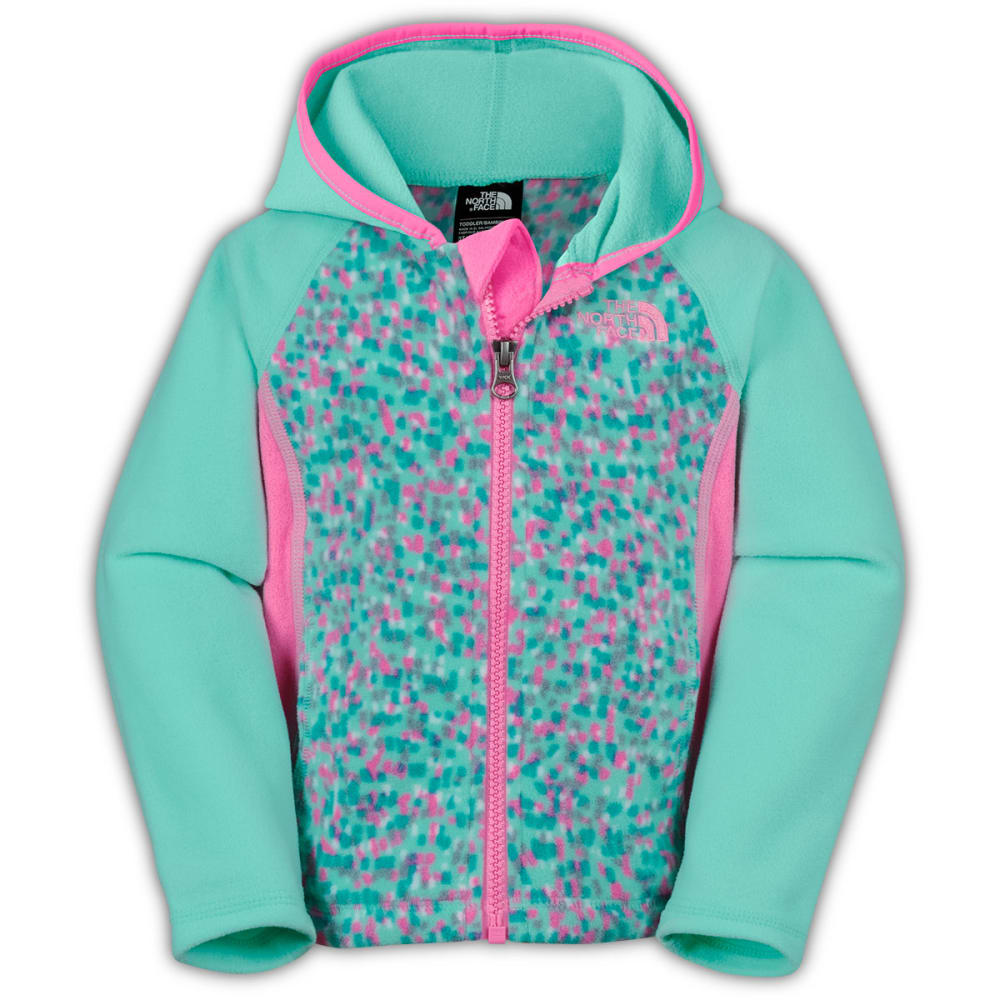 THE NORTH FACE Girl's Toddler Glacier Hoodie - SURF GREEN