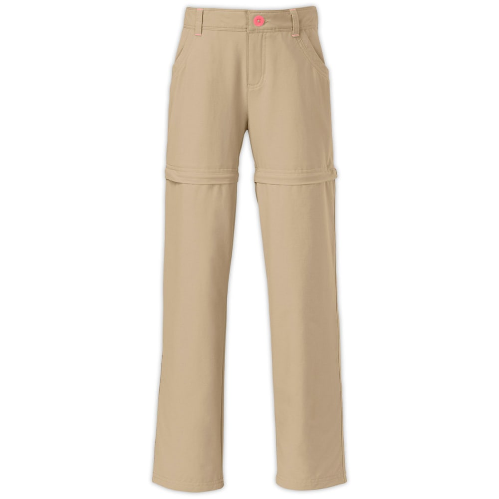 THE NORTH FACE Girls' Argali Convertible Hike Pants - BEIGE
