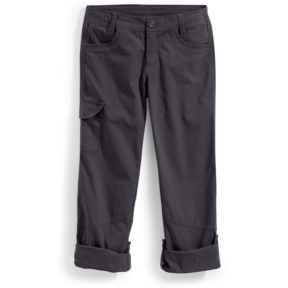 KUHL Girls' Splash Roll-Up Pants - CARBON