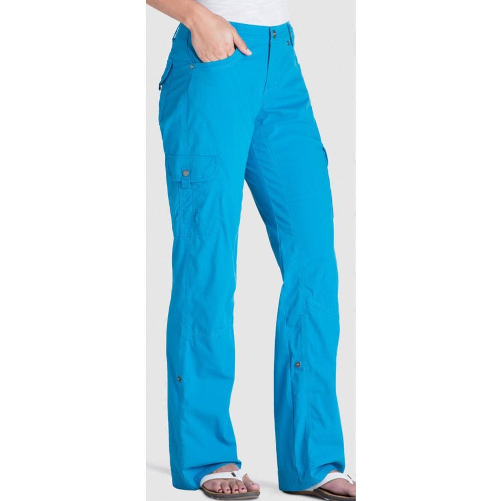 KÜHL Girls' Splash™ Roll-Up Pants - SEAPORT