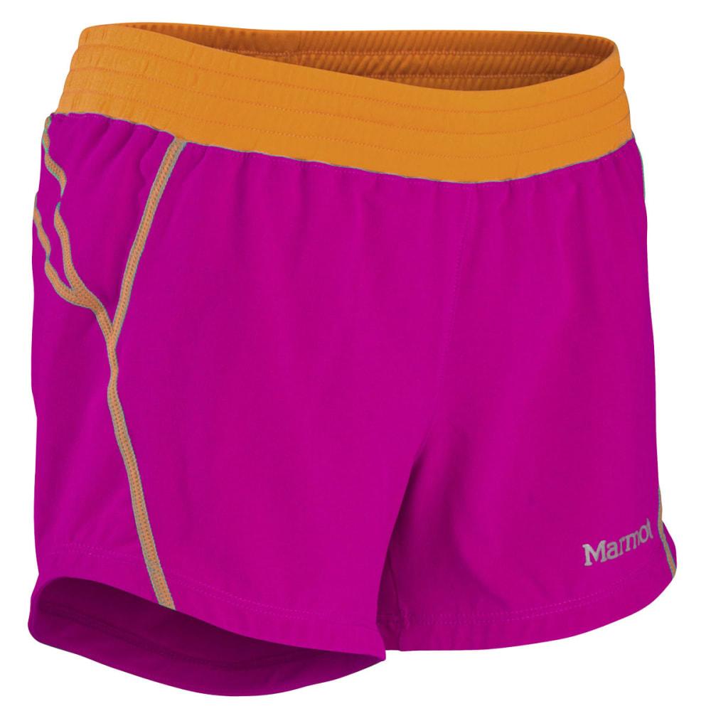MARMOT Girls' Mobility Shorts - LIPSTICK