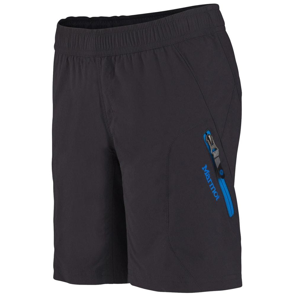 MARMOT Boys' Approach Shorts - BLACK