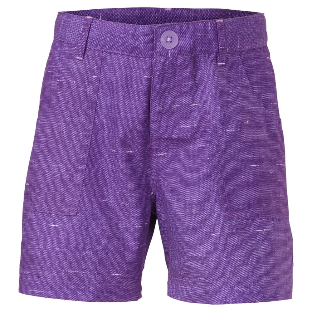 THE NORTH FACE Girls' Argali Hike/Water Shorts - DK PURPLE