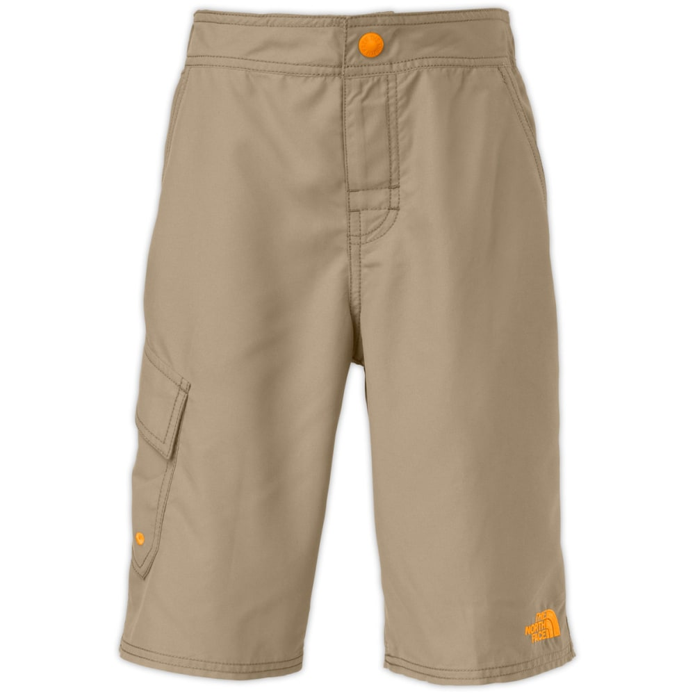 THE NORTH FACE Boys' Markhor Hike/Water Shorts - KHAKI