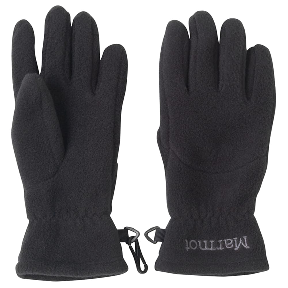 MARMOT Kids' Fleece Glove - BLACK