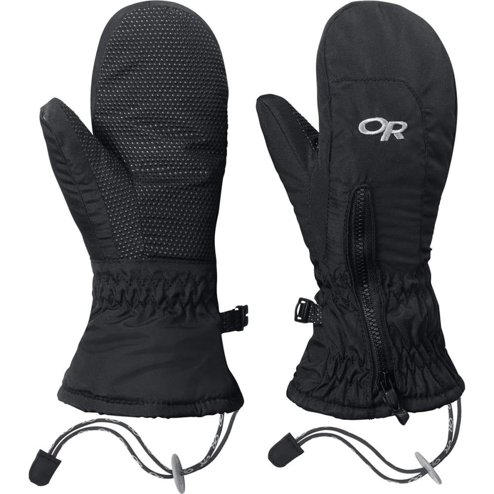 OUTDOOR RESEARCH Toddlers' Adrenaline Mitts - BLACK