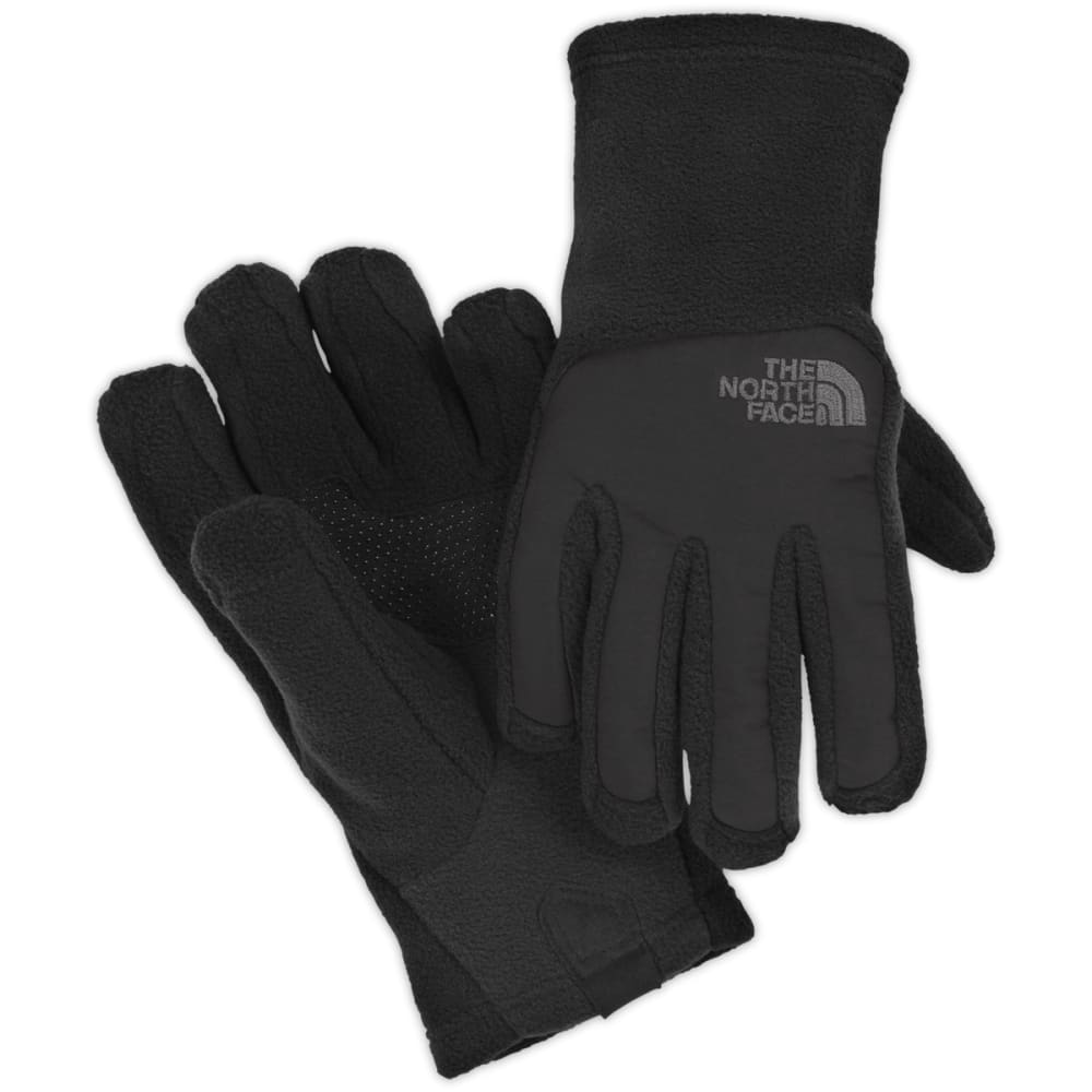 THE NORTH FACE Boys' Denali Etip Fleece Gloves - TNF BLACK