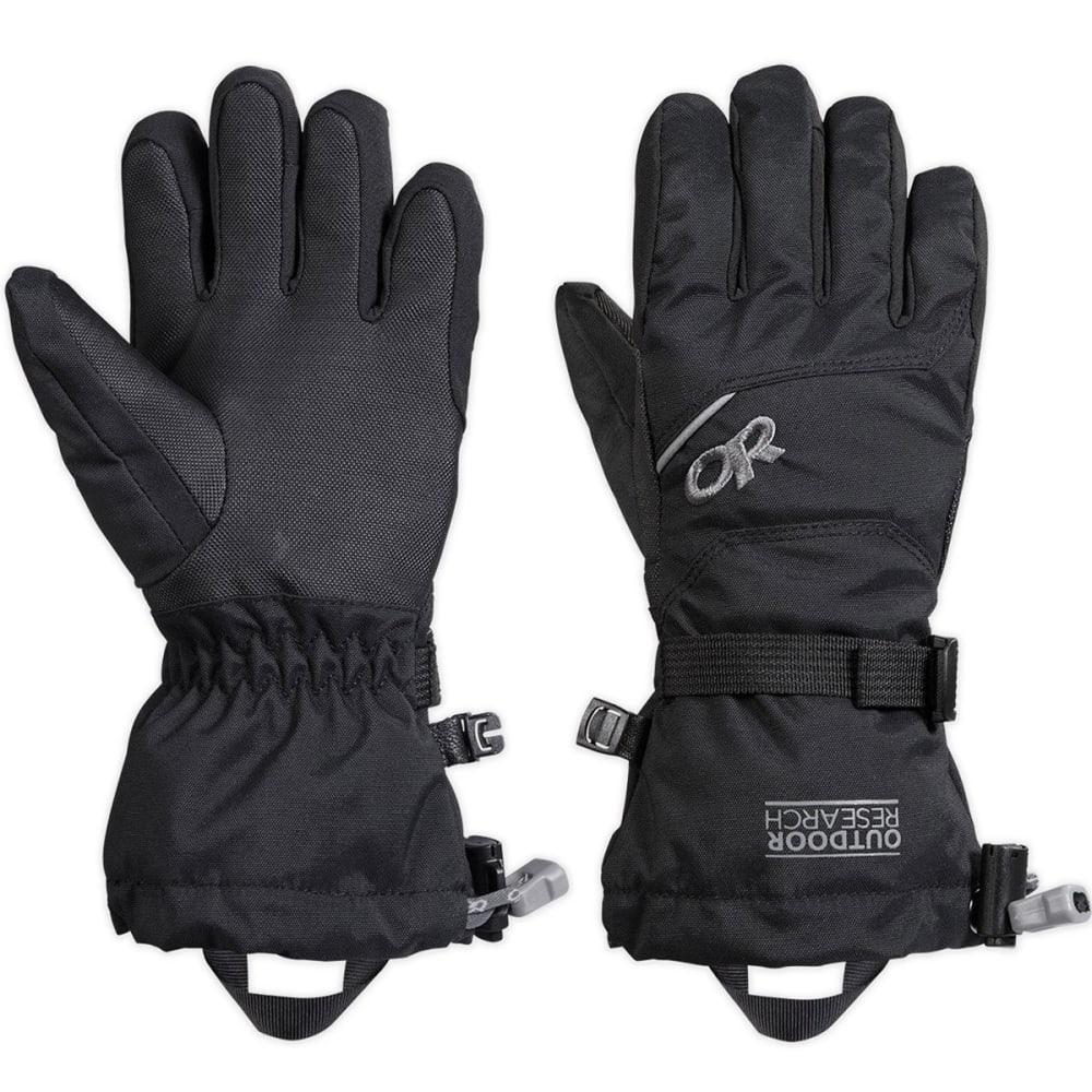 OUTDOOR RESEARCH Kids' Adrenaline Gloves™ - BLACK