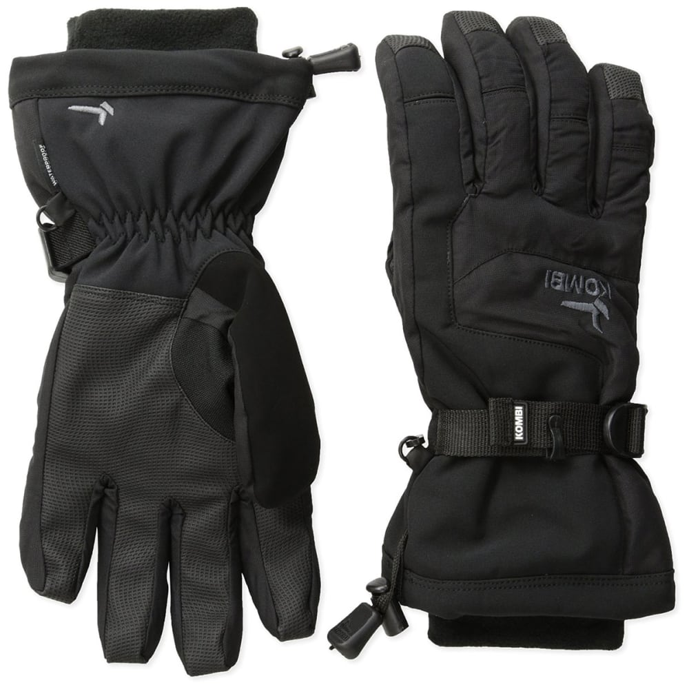 KOMBI Boys' Storm Cuff III Jr Gloves - BLACK/GUNMETAL