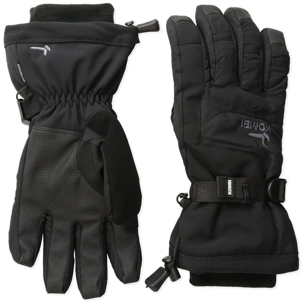 KOMBI Boys' Storm Cuff III Jr Gloves - BLACK/GUNMETAL