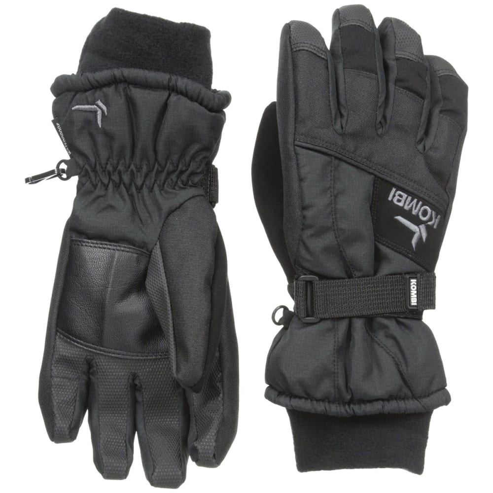 KOMBI Boys' Storm Cuff III Jr Gloves - GUNMETAL