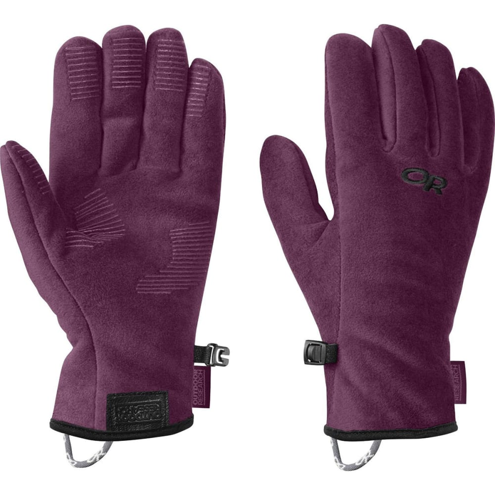 OUTDOOR RESEARCH Kids' Fuzzy Gloves - ORCHID