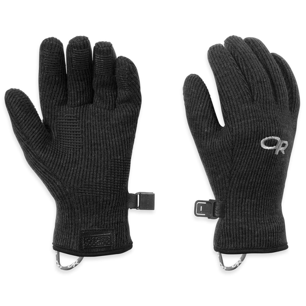 OUTDOOR RESEARCH Kids' Flurry Gloves - BLACK