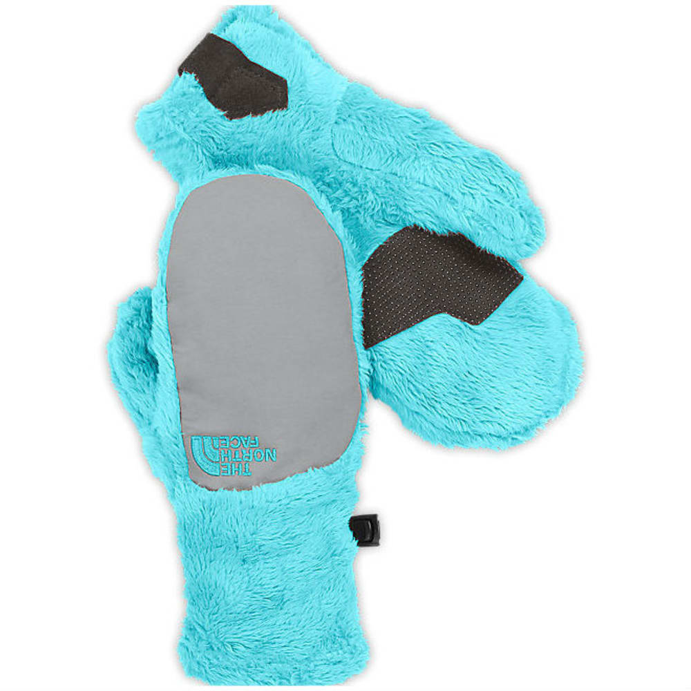 THE NORTH FACE Girls' Denali Thermal Mittens - FORTUNA BLUE/METALLI