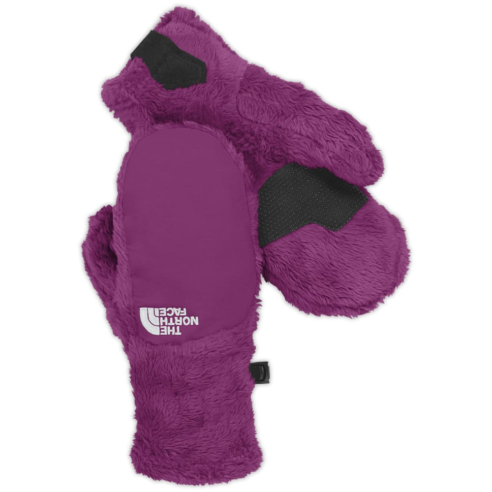 THE NORTH FACE Girls' Denali Thermal Mittens - AZALEA PINK
