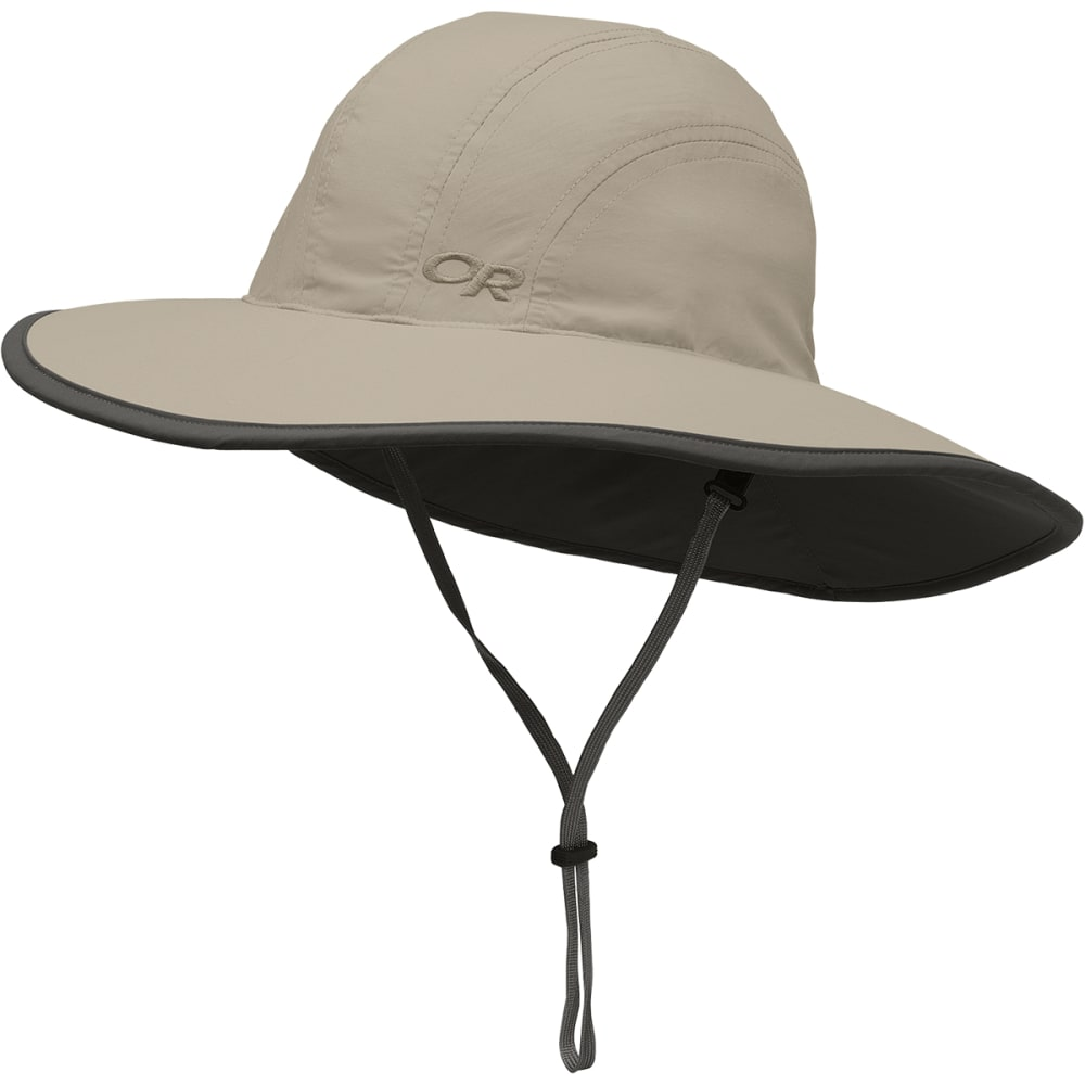 OUTDOOR RESEARCH Kids' Rambler Sombrero - KHAKI/DARK GREY-0808