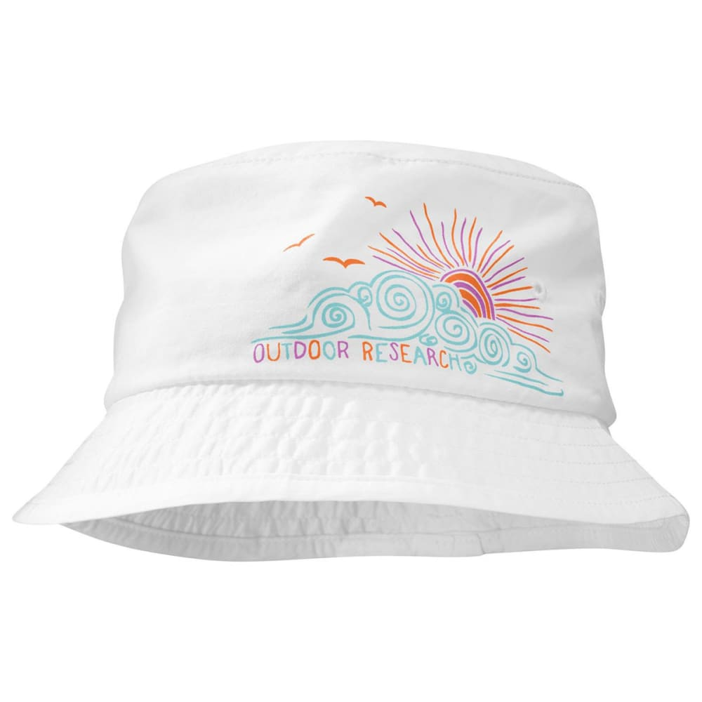 OUTDOOR RESEARCH Girls' Solstice Bucket Hat - WHITE