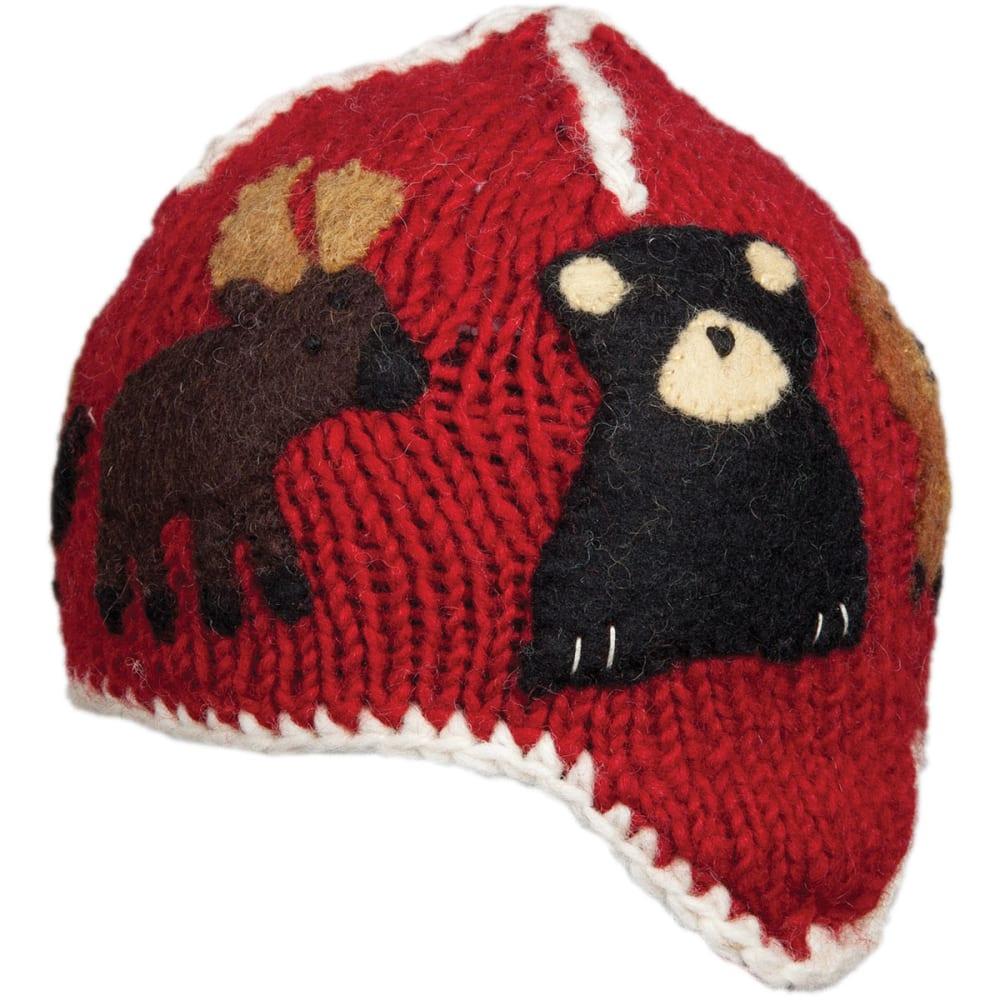 AMBLER Kids' Canuck Hat - RED