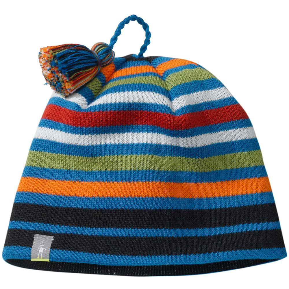 11a38dc9332 SMARTWOOL Kids  39  Warm Wintersport Stripe Hat - ARTIC BLUE