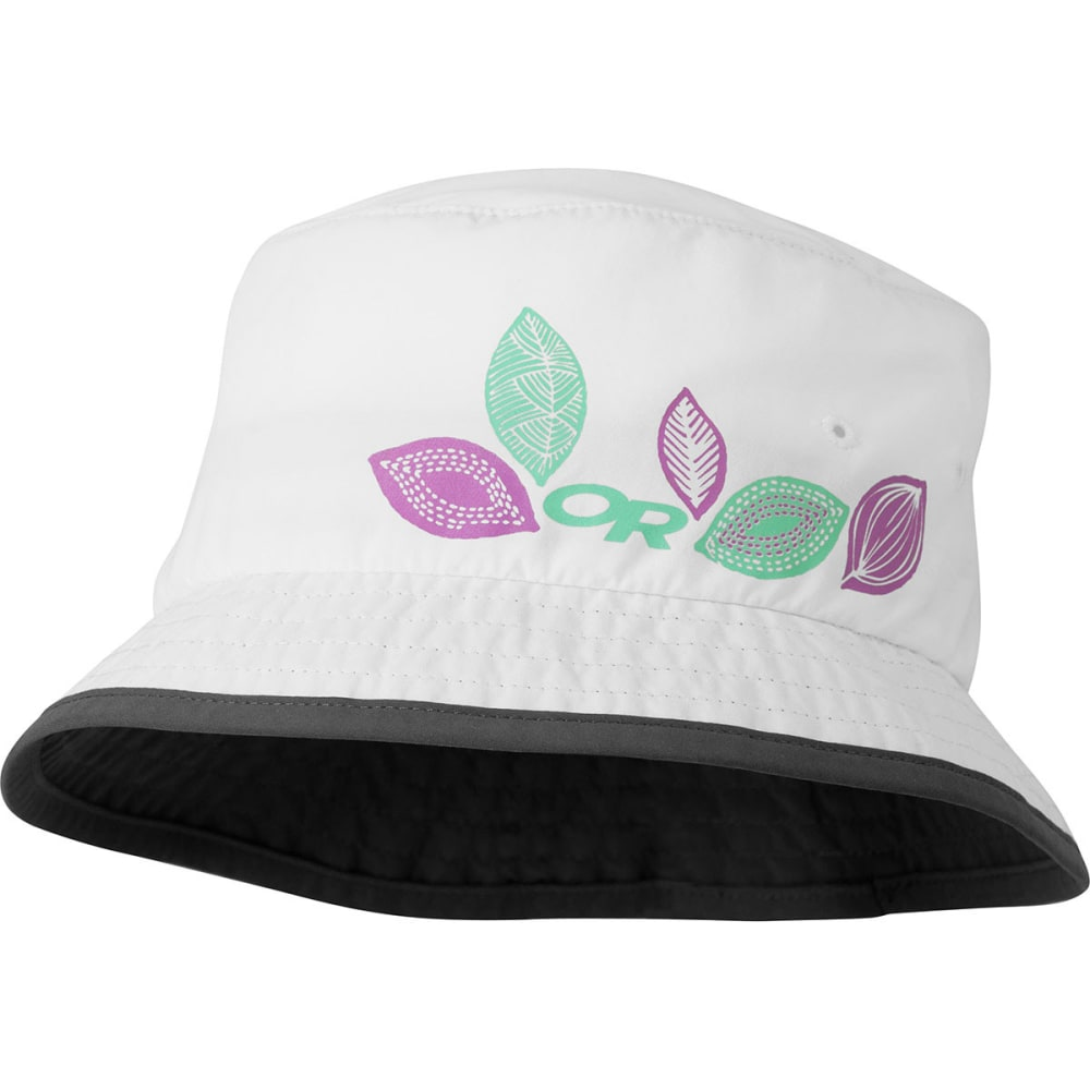 OUTDOOR RESEARCH Kids' Solstice Bucket Hat - WHITE