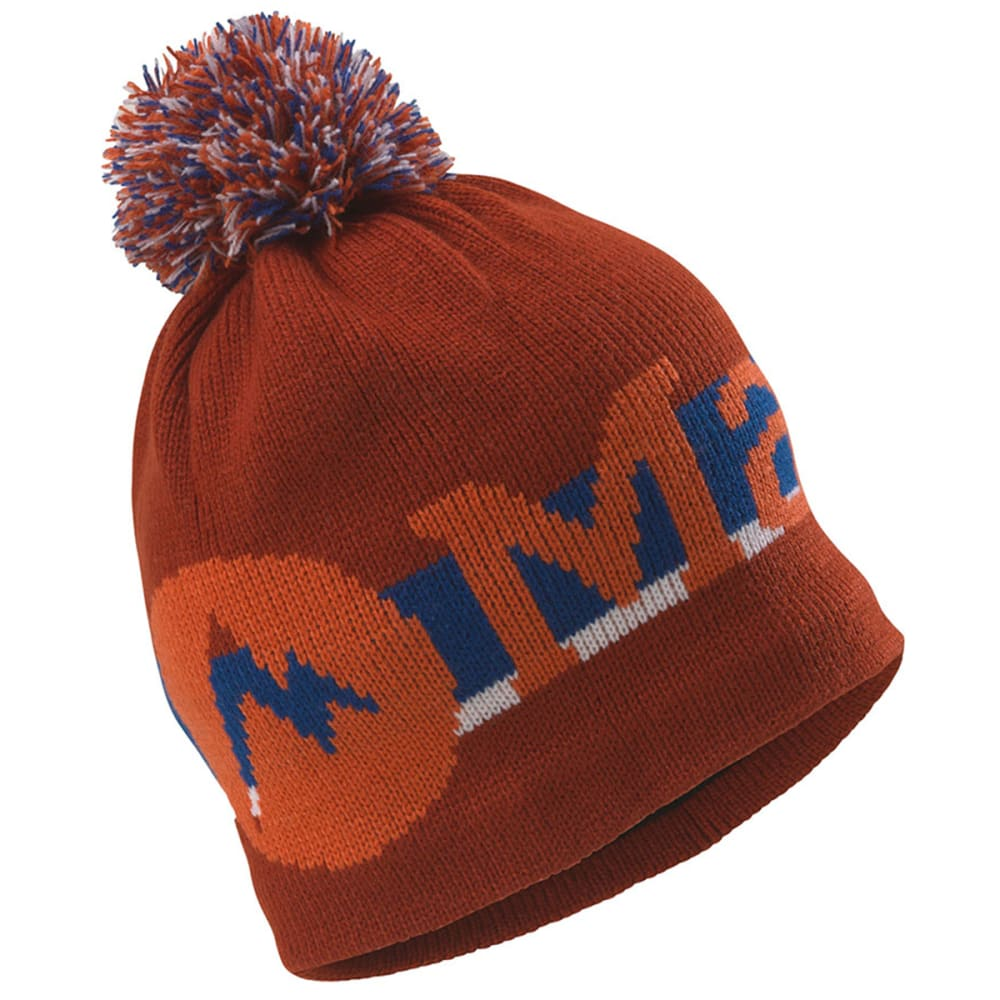 MARMOT Boy's Retro Pom Hat - RUST