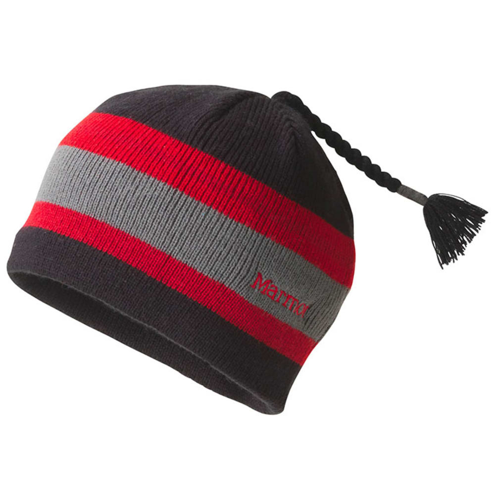 MARMOT Boy's Striper Hat - BLACK