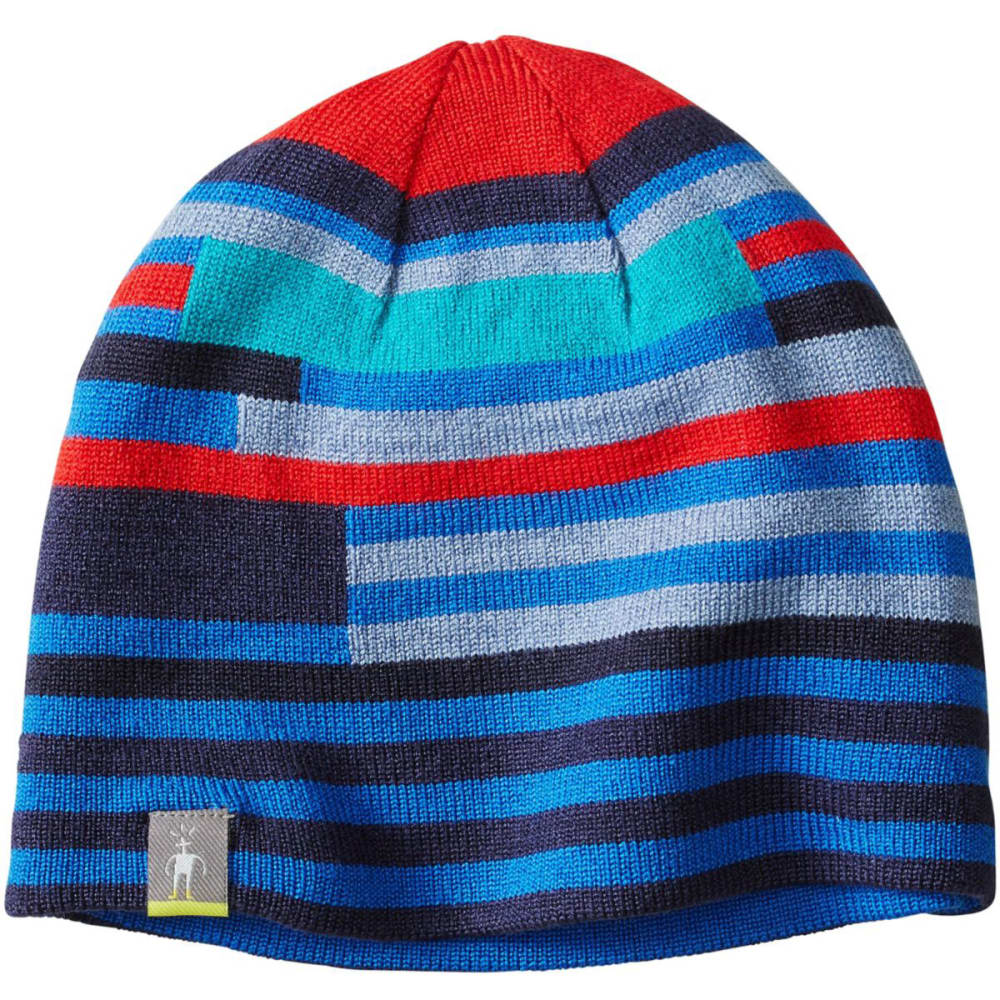 SMARTWOOL Kids' Wintersport Stripe Hat - BRIGHT BLUE