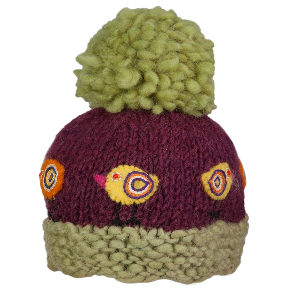 AMBLER Kids' Chickadee Hat - PLUM