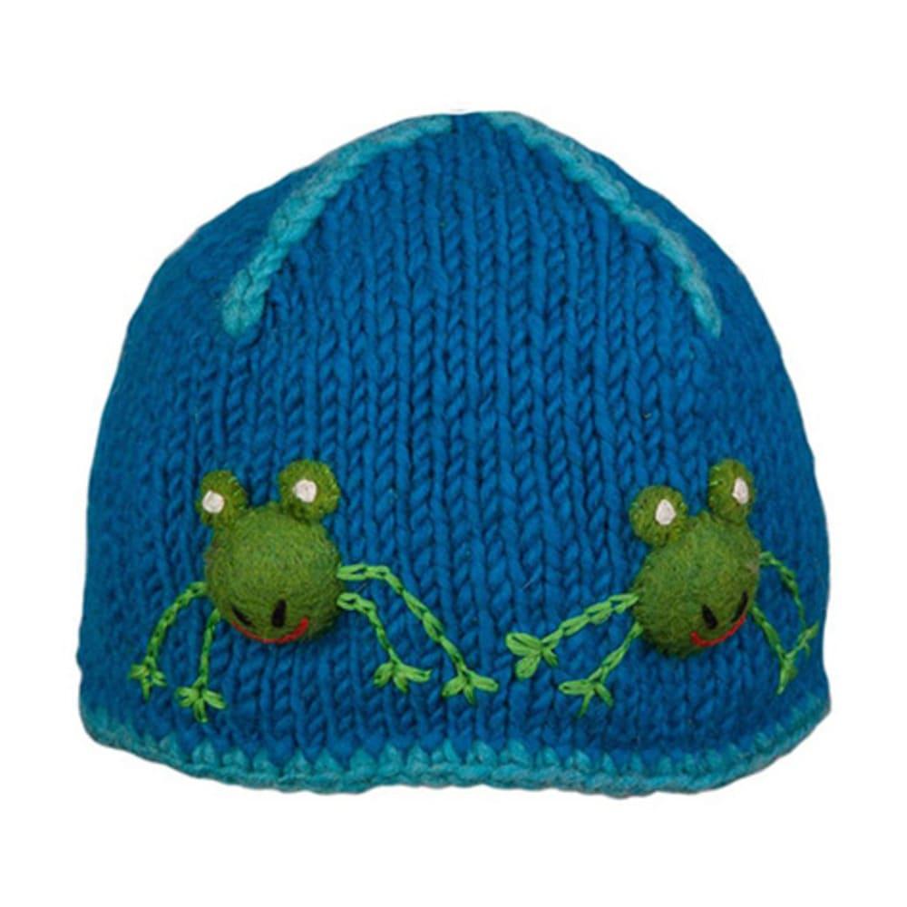 AMBLER Kids' Froggie Hat - AZURE