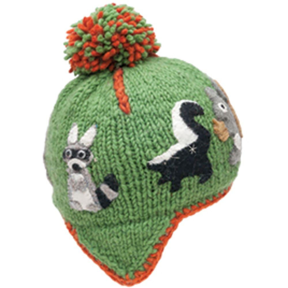 AMBLER APPAREL Kid's Woodland Hat - APPLE GREEN