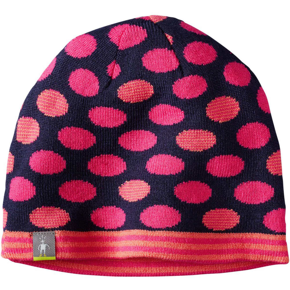 SMARTWOOL Reversible Wintersport Dot Hat - BRIGHT PINK