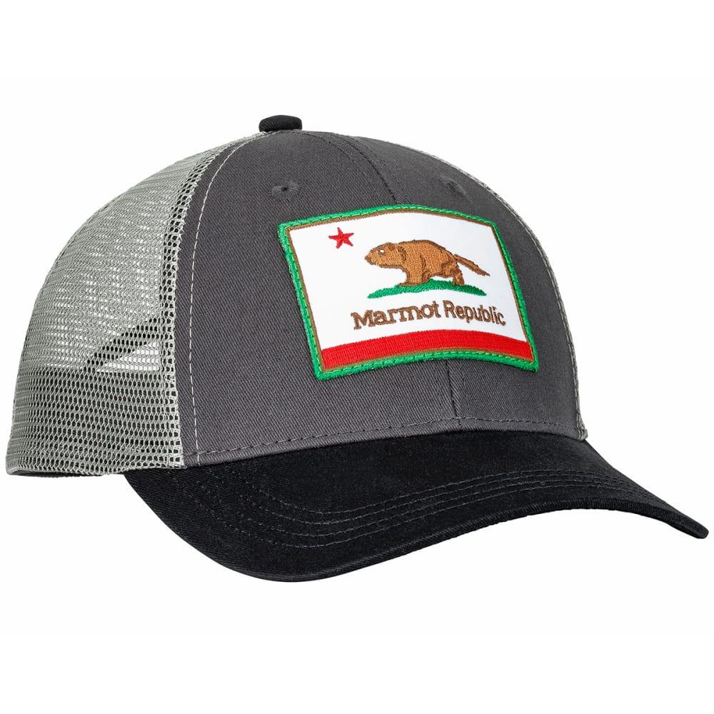 8c59211fa59 MARMOT Kid  39 s Marmot Republic Trucker Hat - SLATE GREY HEATHER