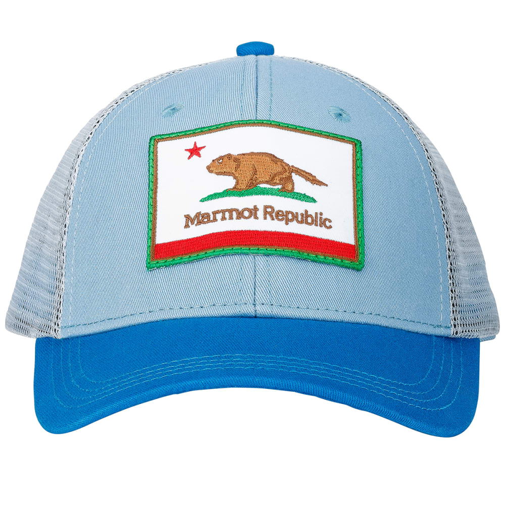 MARMOT Kid's Marmot Republic Trucker Hat - BLUE