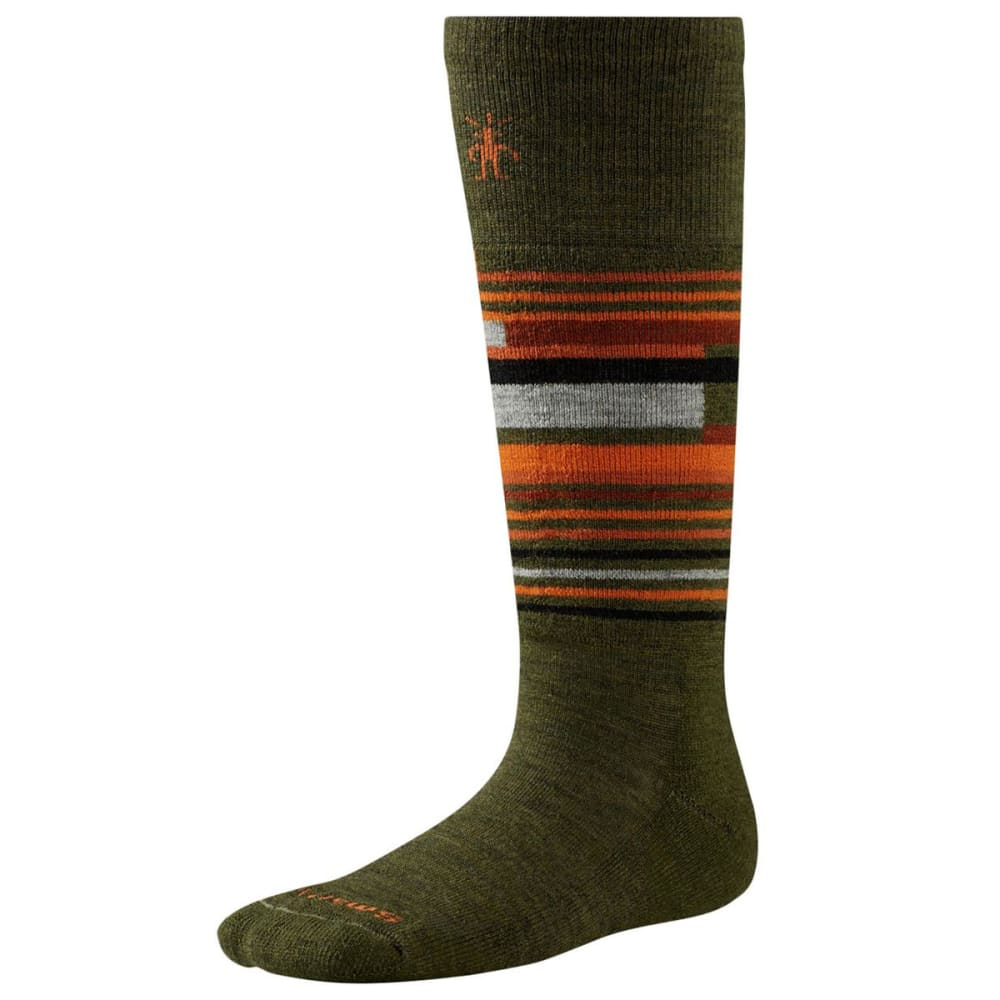 SMARTWOOL Kids' Wintersport Stripe Socks - LODEN