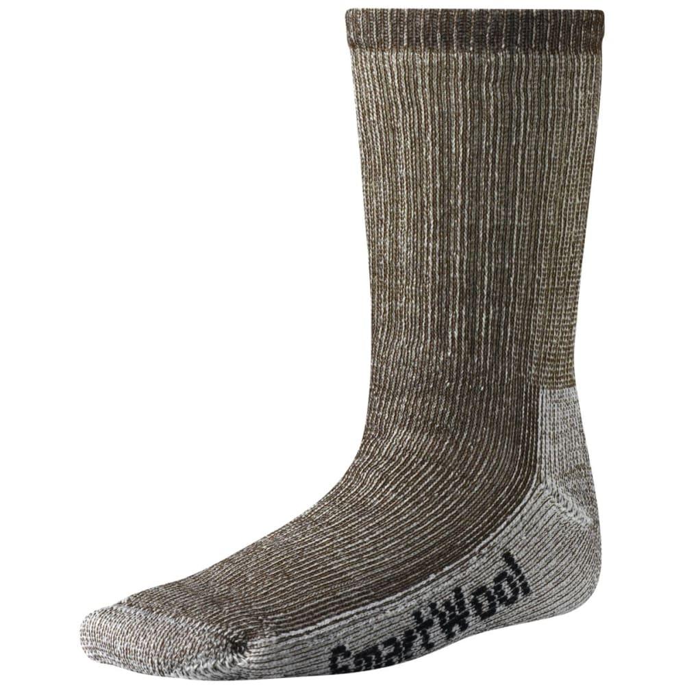 SMARTWOOL Kids' Hike Medium Crew Socks - BROWN
