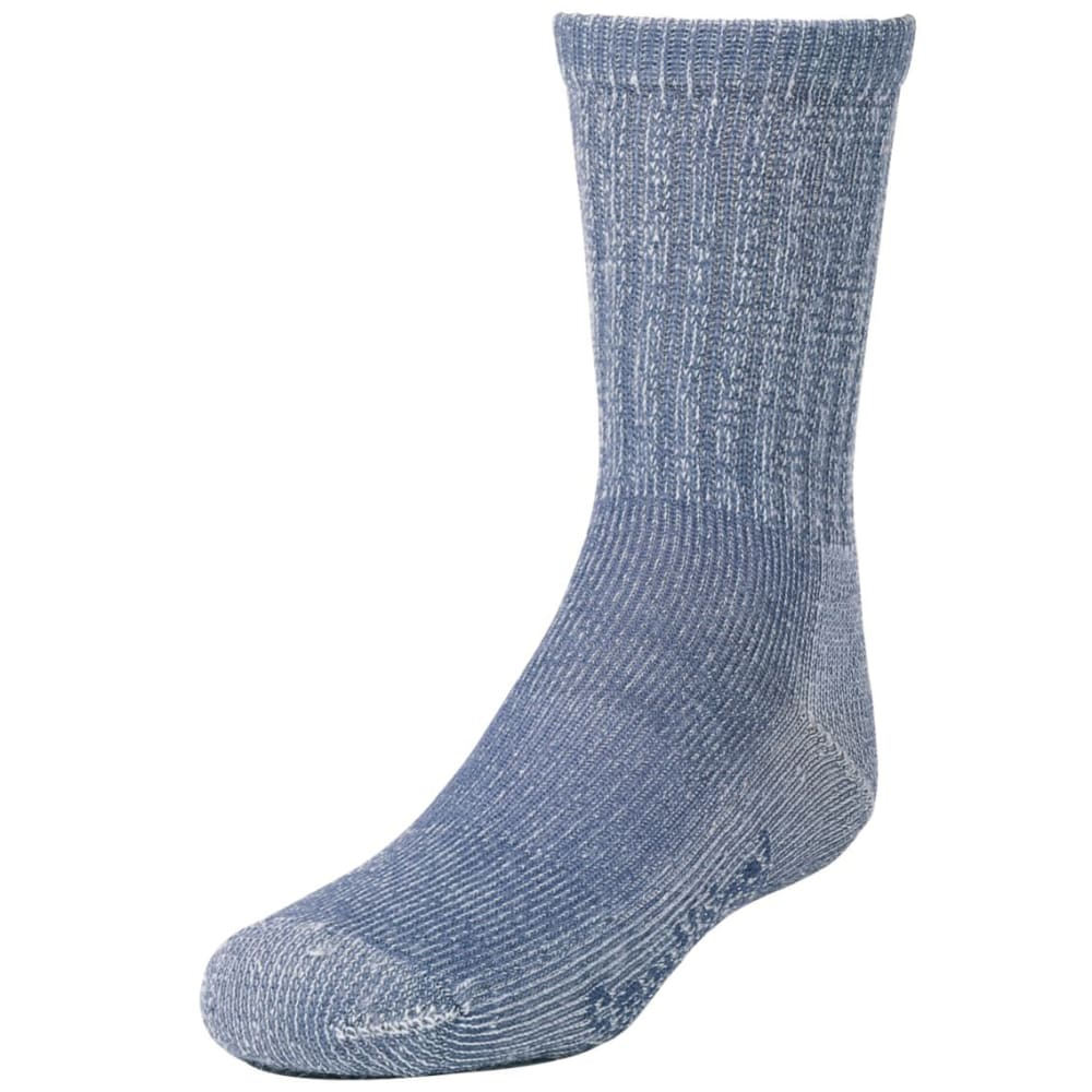 SMARTWOOL Kids' Hike Light Crew Socks - DENIM