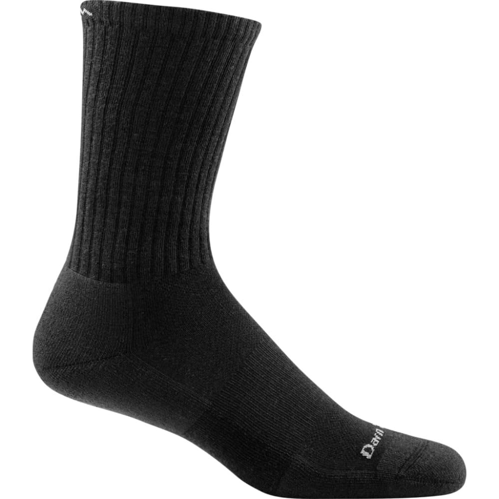 DARN TOUGH Boys' Benjamin Rugby Cushion Boot Socks - BLACK