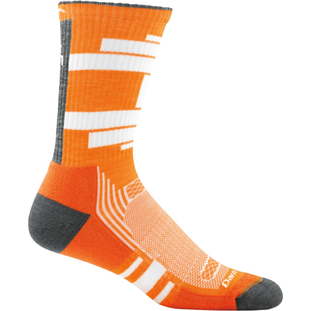 DARN TOUGH Boys' Benjamin Rugby Cushion Boot Socks - ORANGE