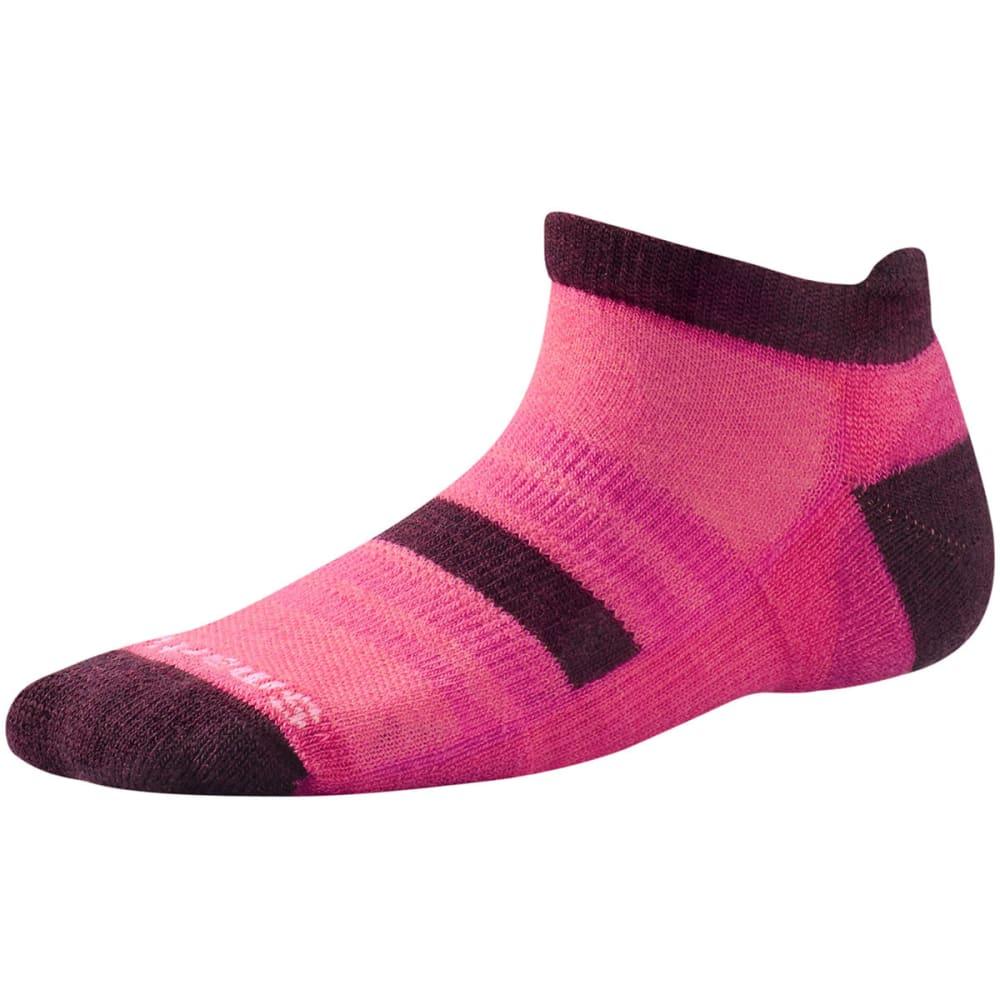 SMARTWOOL Kids' Sport Micro Socks - BRIGHT PINK