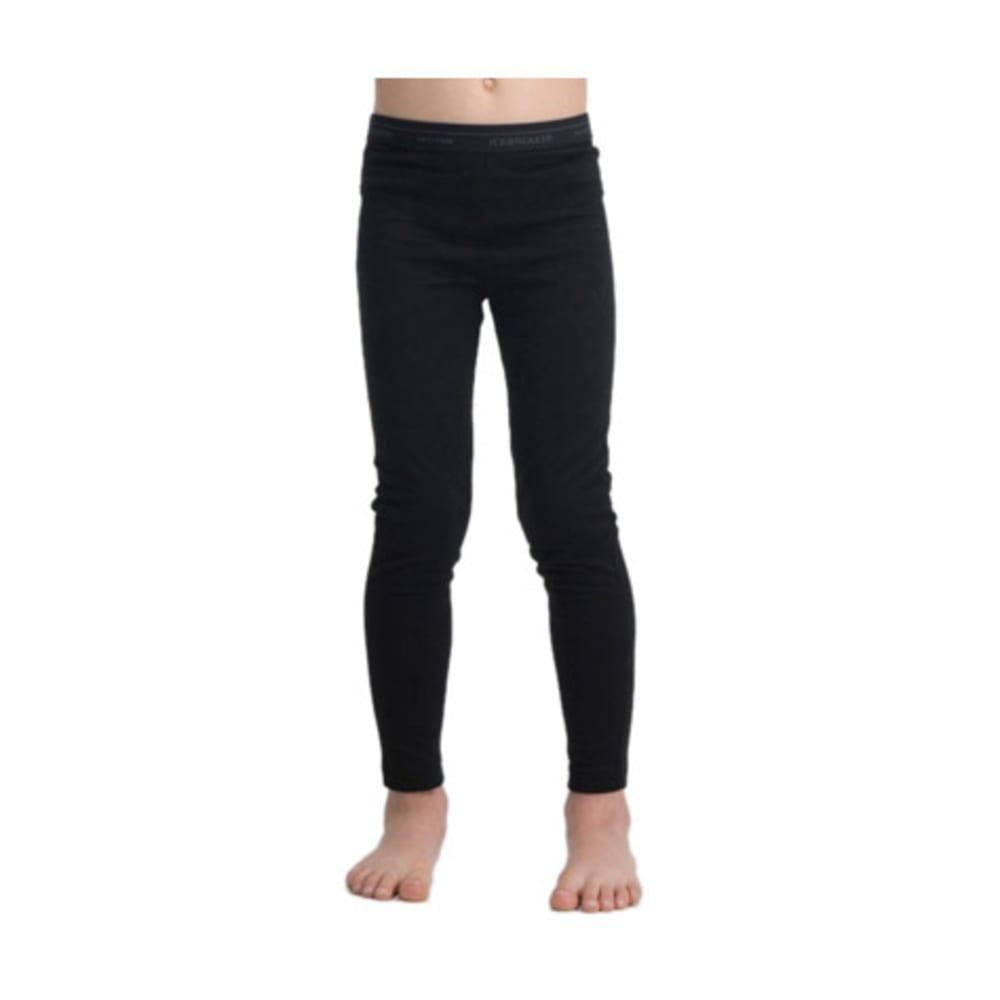 ICEBREAKER Kids' Oasis Lightweight Leggings - BLACK