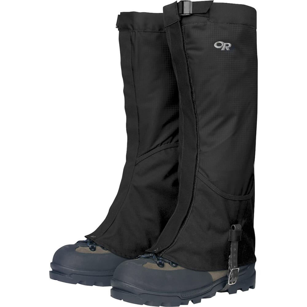 OUTDOOR RESEARCH Men's Verglas Gaiters - BLACK-0001