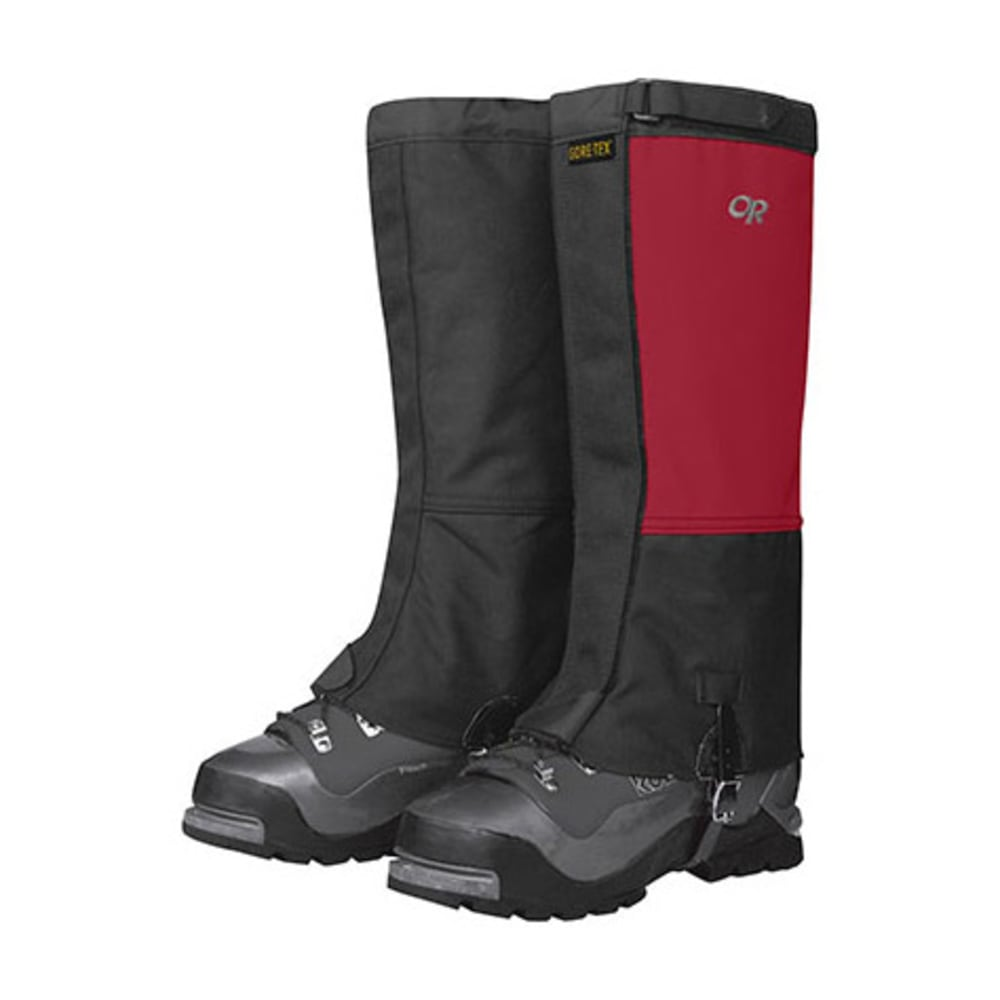 OUTDOOR RESEARCH Expedition Crocodile Gaiters - CHILI/BLACK