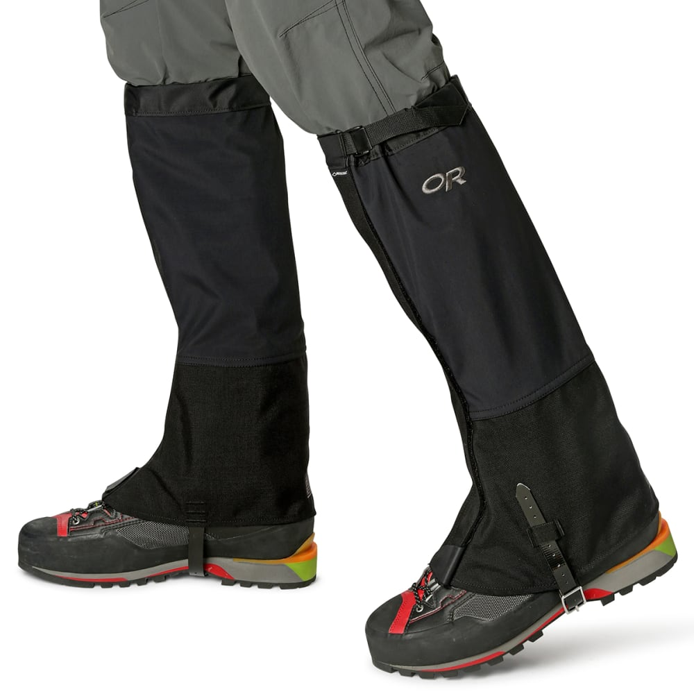 OUTDOOR RESEARCH Men's Crocodiles Gaiters - BLACK-0001