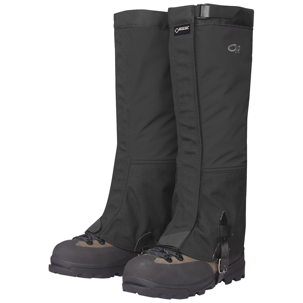OUTDOOR RESEARCH Men's Crocodiles™ Gaiters - BLACK-0001