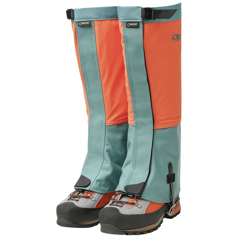 OUTDOOR RESEARCH Men's Crocodiles Gaiters - 1437 BAHAMA SEAGLASS