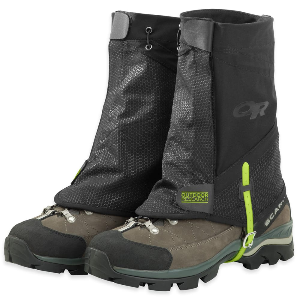 OUTDOOR RESEARCH Flex-Tex II Gaiters - BLACK
