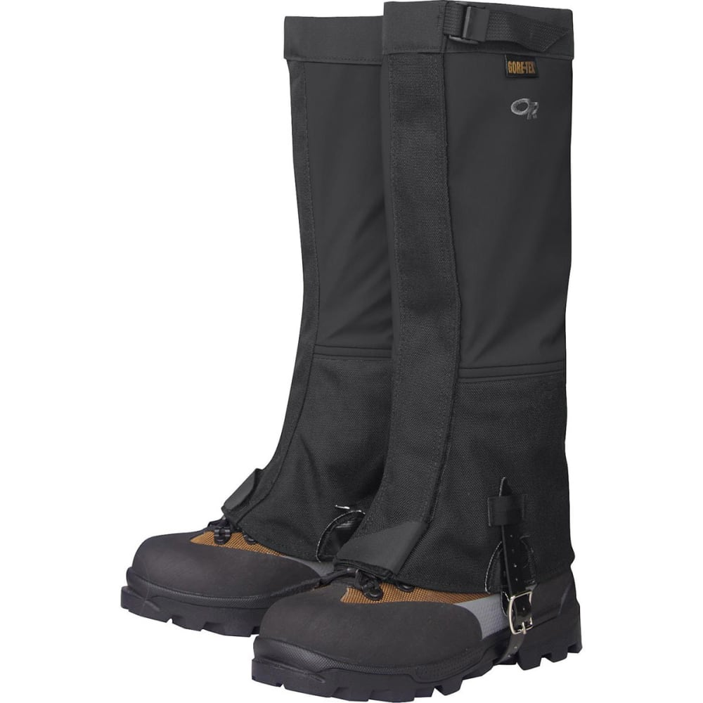 OUTDOOR RESEARCH Women's Crocodiles Gaiters - BLACK-0001