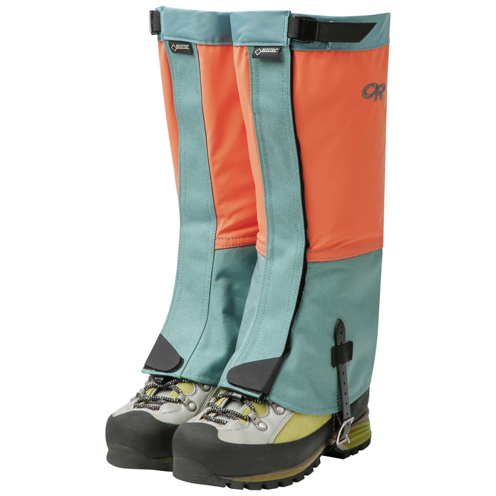 OUTDOOR RESEARCH Women's Crocodiles Gaiters - 1437 BAHAMA SEAGLASS