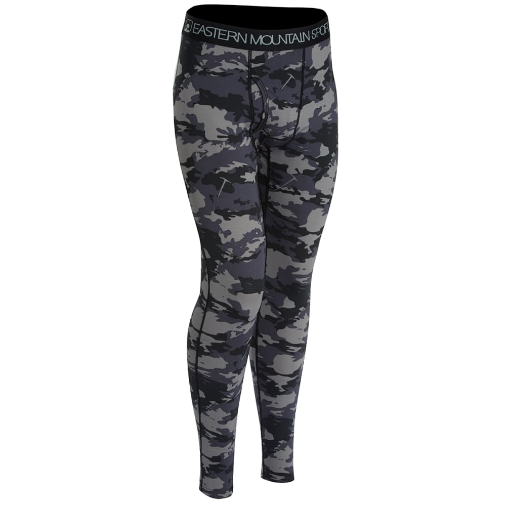 EMS® Men's Techwick® Lightweight Baselayer Tights  - BLACK CAMO
