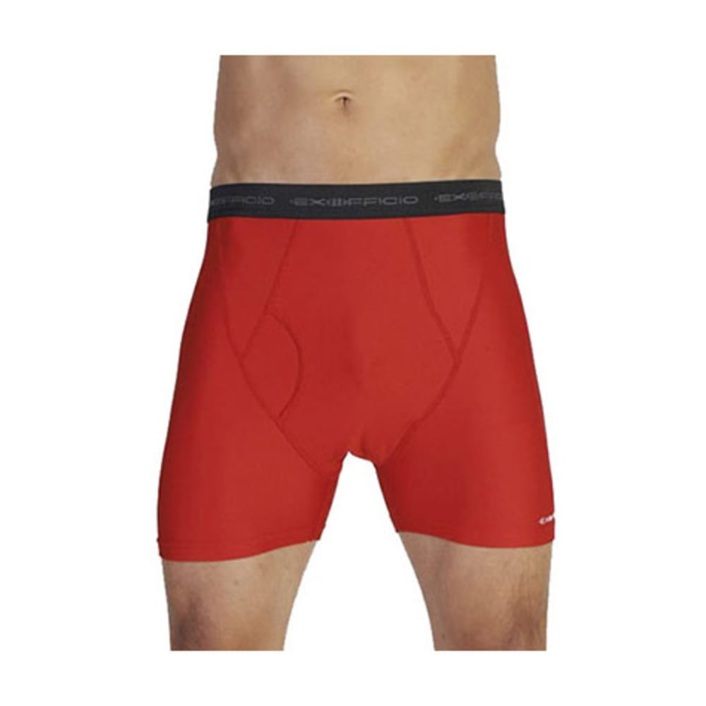 EXOFFICIO Men's Give-N-Go Boxer Briefs  - STOP